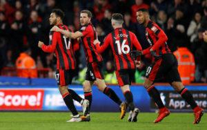 110e4161 SCORET, SNUDDE OG VANT: Joshua King var blant målscorerne da Bournemouth  snudde kampen mot Stoke i forrige Premier League-runde.