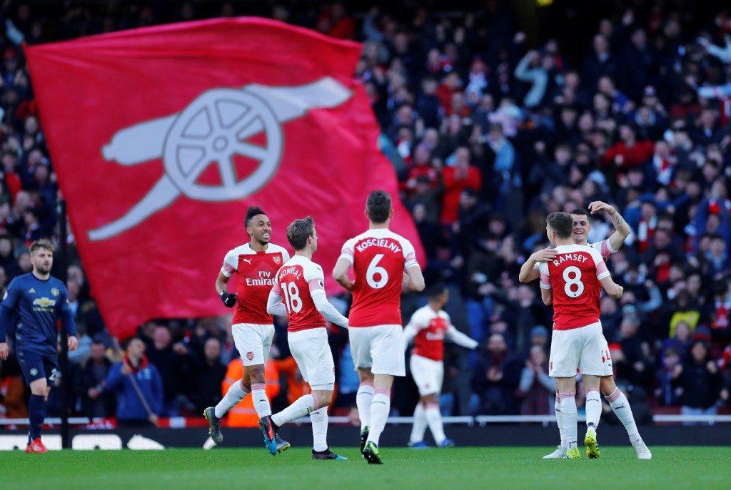 7f29f7b8 Arsenal har nå ti strake ligaseiere på hjemmebane – deriblant mot Chelsea,  Tottenham og Manchester United. (Foto: NTB/Scanpix)